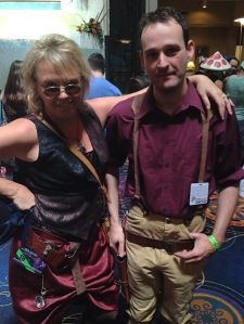 My smuggler, Amelia Elizabeth Hawkhurst Avery, and Captain Mal. I was excited. Amelia and I are both Browncoats.